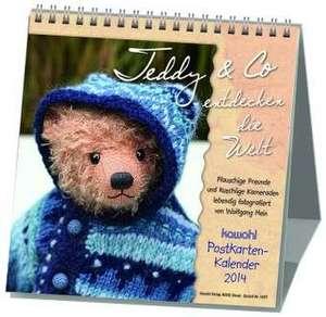 Teddy & Co entdecken die Welt 2020. Postkarten-Kalender de Wolfgang Hein