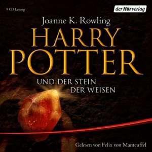 Harry Potter 1 und der Stein der Weisen. Ausgabe fuer Erwachsene