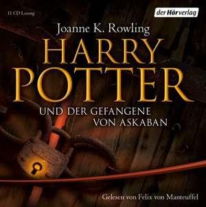 Harry Potter 3 und der Gefangene von Askaban. Ausgabe fuer Erwachsene