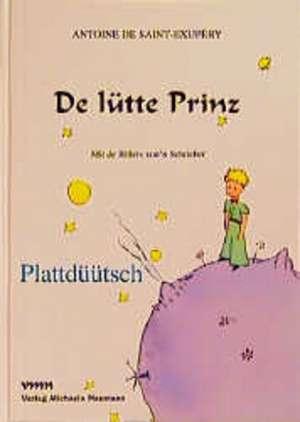 De lütte Prinz Plattdüütsch de Antoine De Saint-Exupery