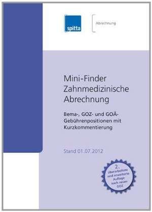Mini-Finder Zahnmedizinische Abrechnung