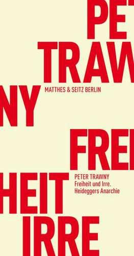 Irrnisfuge de Peter Trawny