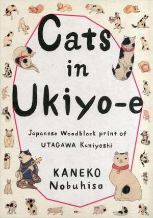Cats in Ukiyo-E imagine