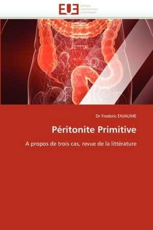 Peritonite Primitive