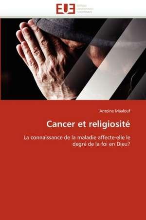Cancer Et Religiosite