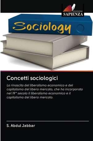 Concetti sociologici de S. Abdul Jabbar