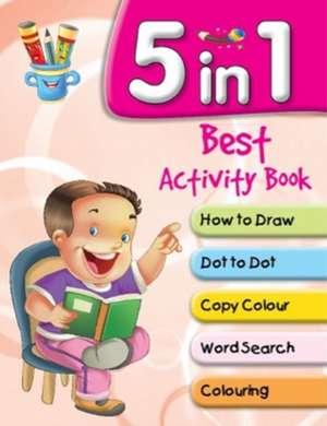 5 in 1 Best Activity Book