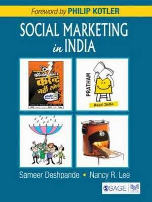 Social Marketing in India de Sameer Deshpande