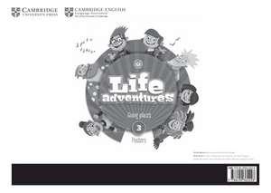 Life Adventures Level 3 Posters: Going Places de Caroline Nixon