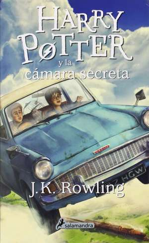 Harry Potter 2 y la cámara secreta de J. K. Rowling