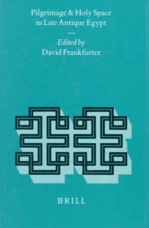 Pilgrimage and Holy Space in Late Antique Egypt de D. Frankfurter