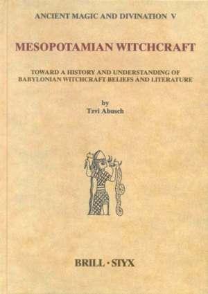 Mesopotamian Witchcraft:  Towards a History and Understanding of Babylonian Witchcraft Beliefs and Literature de Tzvi Abusch