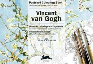 Van Gogh:  Postcard Colouring Book de Pepin van Roojen