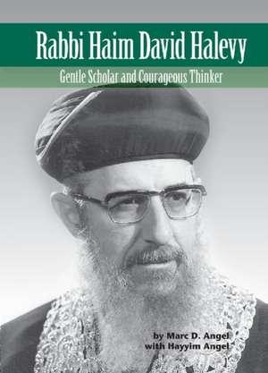 Rabbi Haim David Halevy imagine