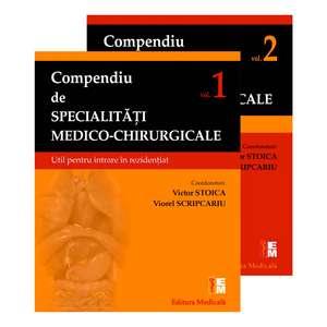 Compendiu de specialități medico-chirurgicale de VIctor Stoica