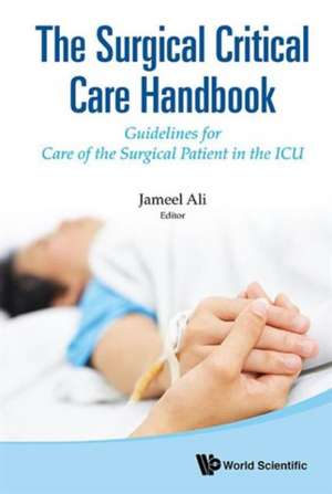 Surgical Critical Care Handbook, The