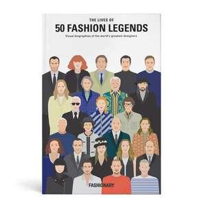 The Lives of 50 Fashion Legends imagine