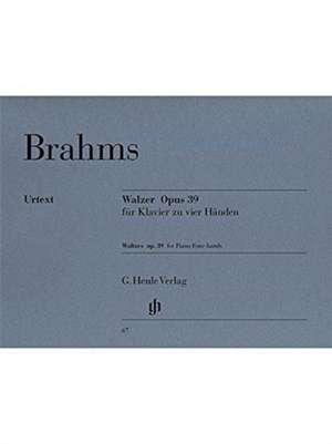 Walzer op. 39 de Johannes Brahms