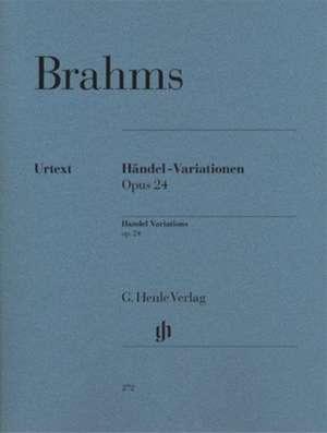 Händel-Variationen op. 24 de Johannes Brahms