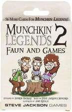 Munchkin Legends 2 Faun and Games:  Jump the Shark