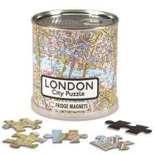 London City Puzzle Magnetic 100 Pieces, 26 x 35 cm