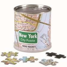 New York City Puzzle Magnetic 100 Pieces, 26 x 35 cm