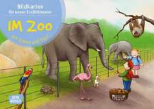 Im Zoo mit Emma und Paul. Kamishibai Bildkartenset.