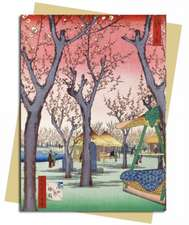 Hiroshige: Plum Garden Greeting Card
