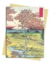 Hiroshige: Twilight Hill Greeting Card