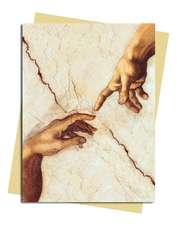 Michaelangelo: Creation Hands Greeting Card