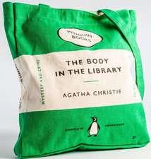 Sacoșă Penguin (Book Bag), Body in the Library