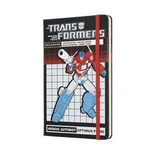 Moleskine Transformers Optimus Prime Limited Edition Notebook Large Ruled
