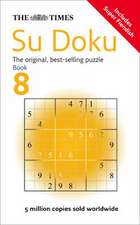 The Times Su Doku Book 8