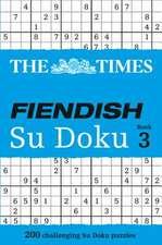 The Times Fiendish Su Doku, Book 3:  Inside the Dream