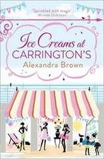 Ice Creams at Carrington S:  Ready to Fly