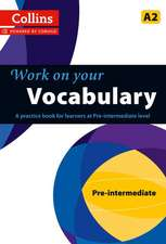 Work on Your Vocabulary:  A Practice Book for Learners at Pre-Intermediate Level