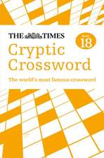 The Times Cryptic Crossword, Book 18:  Killer Sudoku, Book 10