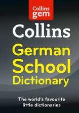 Collins German School Gem Dictionary