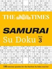 The Times Samurai Su Doku 3