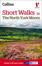 Collins Maps: Short Walks in The North York Moors