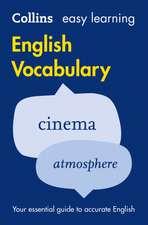 Easy Learning English Vocabulary