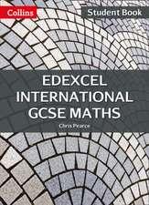 Edexcel International GCSE Maths Student Book