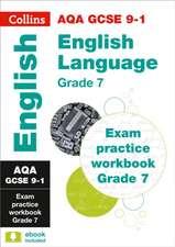 AQA GCSE 9-1 English Language Exam Practice Workbook (Grade 7)