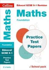 Edexcel GCSE Maths Foundation Practice Test Papers