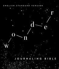 Wonder: Journaling Bible