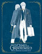 Fantastic Beasts 2: The Crimes of Grindelwald. Magical Adventure Colouring Book