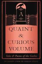 Quaint and Curious Volume