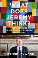 Jeremy Heywood Memoir
