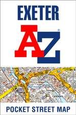 -Z Exeter Pocket Street Map