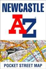 Newcastle upon Tyne A-Z Pocket Street Map
